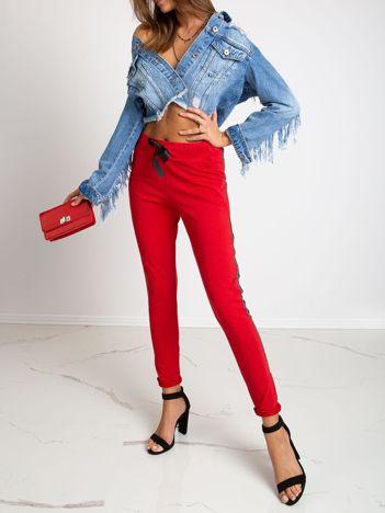Czerwone spodnie Salt