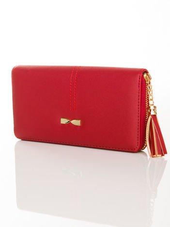Czerwony portfel z CHWOSTEM
