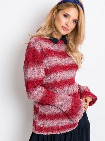 Czerwony sweter Ballerina