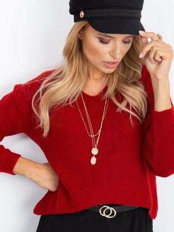 Czerwony sweter Touch