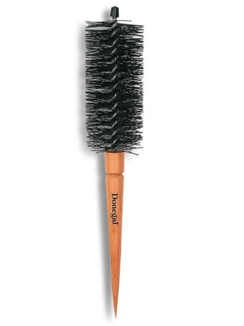 DONEGAL Drewniana Szczotka do modelowania włosów Szczotko-lokówka NATURE GIFT 40mm (9118)
