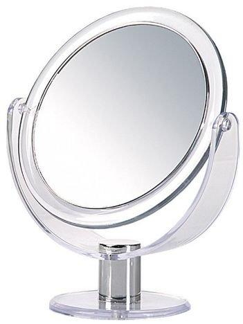 DONEGAL Dwustronne lusterko kosmetyczne Powiększenie x 5 stojące (9275)