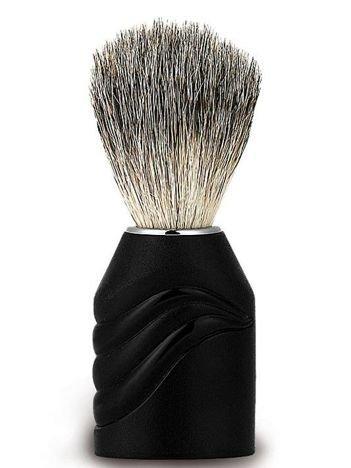 DONEGAL Pędzel do golenia Naturalne włosie borsuka czarny (9938)
