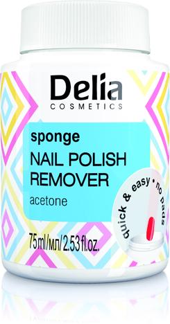 DROGERIA Delia Cosmetics Zmywacz do paznokci z gą