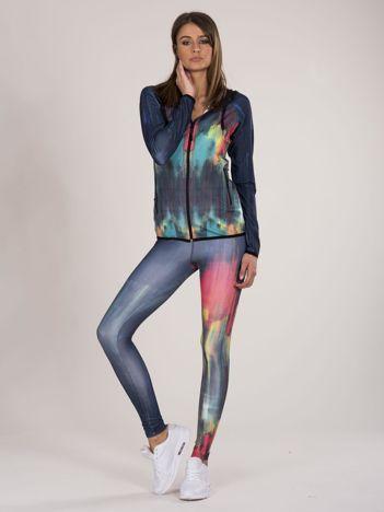 Damski 2-częściowy komplet sportowy bluza i legginsy