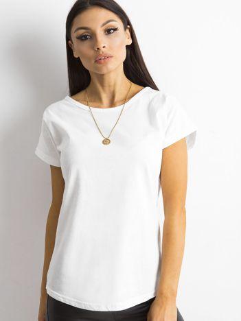 Damski t-shirt biały