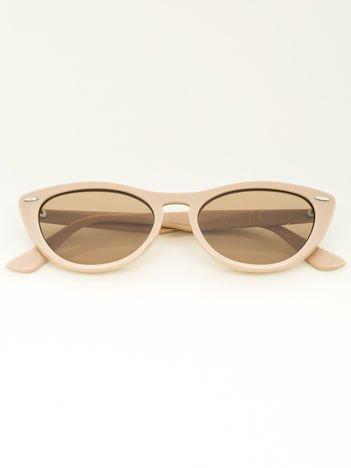 Damskie okulary przeciwsłoneczne typu CAT EYE