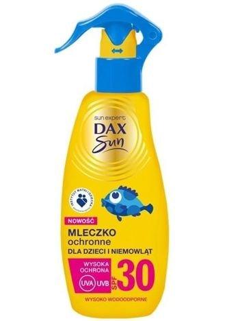 Dax Sun Mleczko ochronne dla dzieci i niemowląt SPF 30  spray  200 ml
