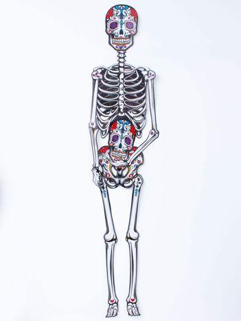 Dekoracja papierowy szkielet