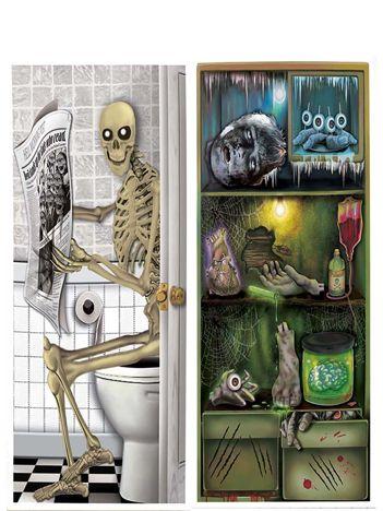Dekoracyjny plakat Halloween na drzwi