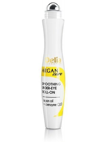 Delia Cosmetics Argan Care Q10 Roll-on pod oczy wygładzający 15 ml