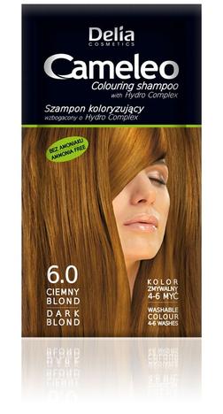 """Delia Cosmetics Cameleo Szampon koloryzujący 6.0 ciemny blond"""""""