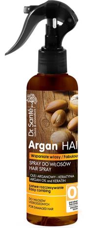 Dr.Sante Argan Hair Spray do włosów ułatwiający rozczesywanie z olejem arganowym i keratyną 150ml