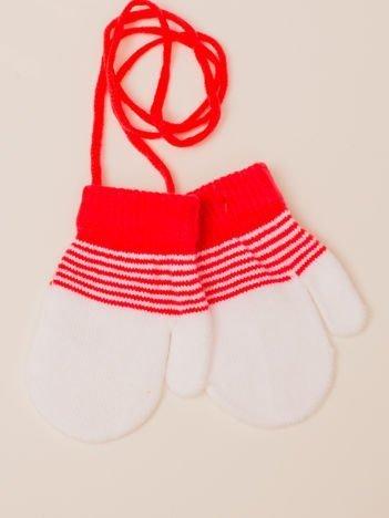 Dwukolorowe Dziecięce Rękawiczki Z Jednym Palcem 11cm (1-3 lata)