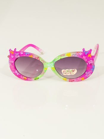Dziecięce okulary przeciwsłoneczne z filtrami UV400 CE odporne na wyginania
