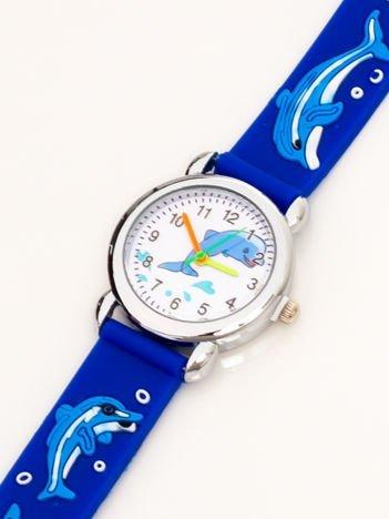Dziecięcy zegarek DELFINY