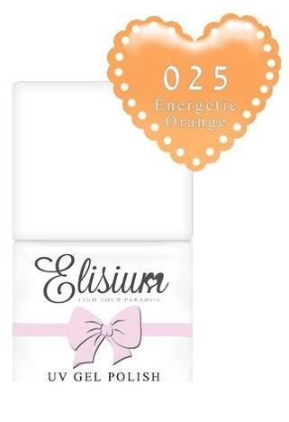 ELISIUM Lakier hybrydowy 025 Energetic Orange 8 ml