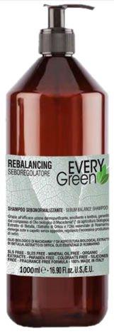 EVERYGreen Naturalny SZAMPON - WŁOSY PRZETŁUSZCZAJĄCE SIĘ 1000 ml