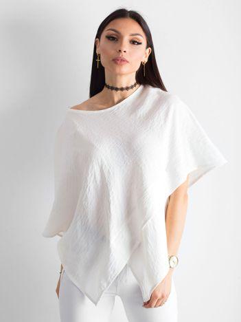 Ecru asymetryczna bluzka