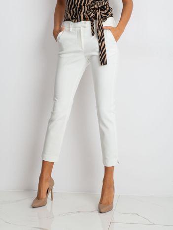 Ecru spodnie Classy