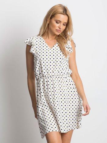 a860f75318 Ecru sukienka Meticulous