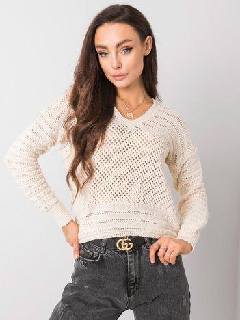 Ecru sweter Caroline RUE PARIS