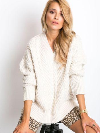 Ecru sweter Maple