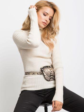 Ecru sweter Milo