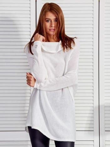 Ecru sweter oversize
