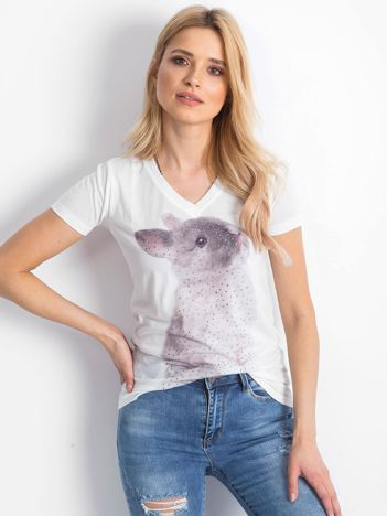 Ecru t-shirt Bunny