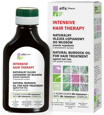 """Elfa Pharm Intensive Hair Therapy Olejek łopianowy przeciw wypadaniu włosów  100ml"""""""