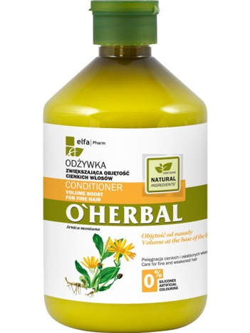 Elfa Pharm O'Herbal Odżywka do włosów cienkich i osłabionych z arniką 500 ml