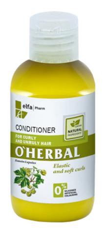 Elfa Pharm O'Herbal Odżywka do włosów kręconych i niezdyscyplinowanych z chmielem 75 ml