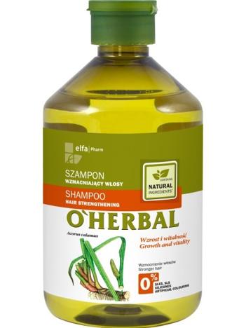 Elfa Pharm O'Herbal Szampon do włosów osłabionych z korzeniem tataraku 500 ml
