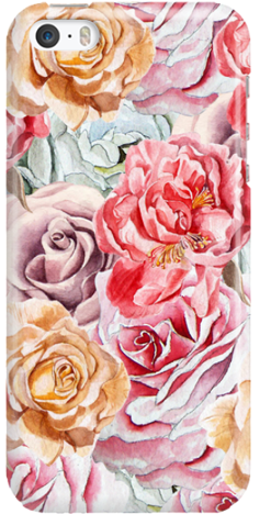 Etui do telefonu Iphone 5/SE Roses