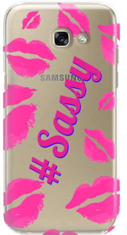 Etui do telefonu Samsung Galaxy A3 2017 Sassy Kiss