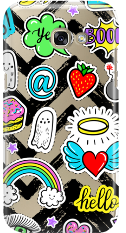 Etui do telefonu Samsung Galaxy A3 2017 Stickers