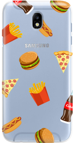 Etui do telefonu Samsung Galaxy J7 2017 Food