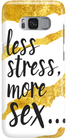 Etui do telefonu Samsung Galaxy S8 Less Stress