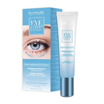 FLOSLEK Dermonaprawczy krem pod oczy przeciwzmarszczkowy 15 ml