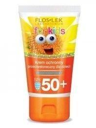 FLOSLEK Krem ochronny przeciwsłoneczny dla dzieci SPF 50+ 50 ml