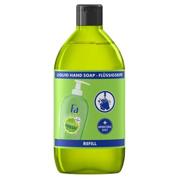 """Fa Hygiene & Fresh Mydło w płynie antybakteryjne Lime - zapas 385ml"""""""
