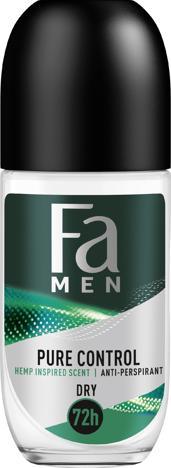 "Fa Men Pure Control Hemp Dezodorant roll-on 72H  50ml"""