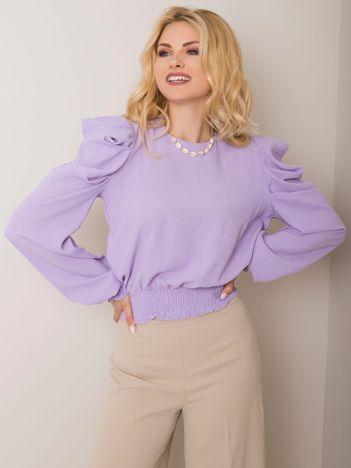 Fioletowa bluzka Milenne RUE PARIS