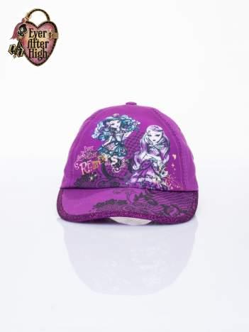 Fioletowa czapka z daszkiem dla dziewczynki EVER AFTER HIGH