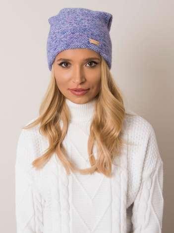 Fioletowa czapka zimowa RUE PARIS