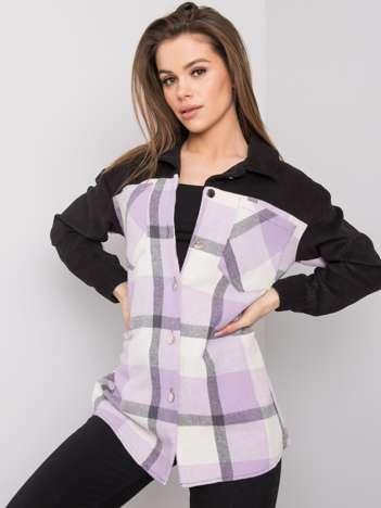 Fioletowa koszula Jaelyn