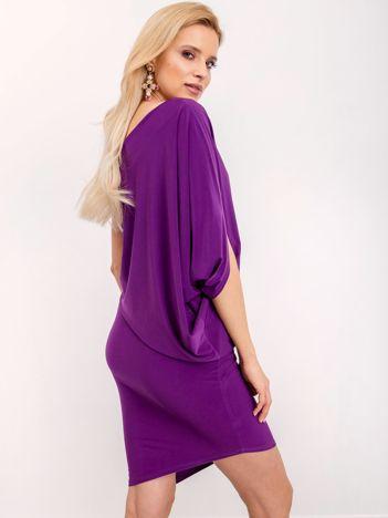 Fioletowa sukienka Dollie