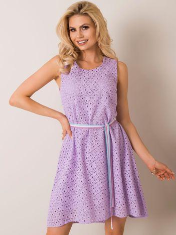 Fioletowa sukienka Lennie
