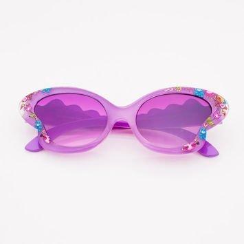 Fioletowe Dziecięce Okulary przeciwsłoneczne